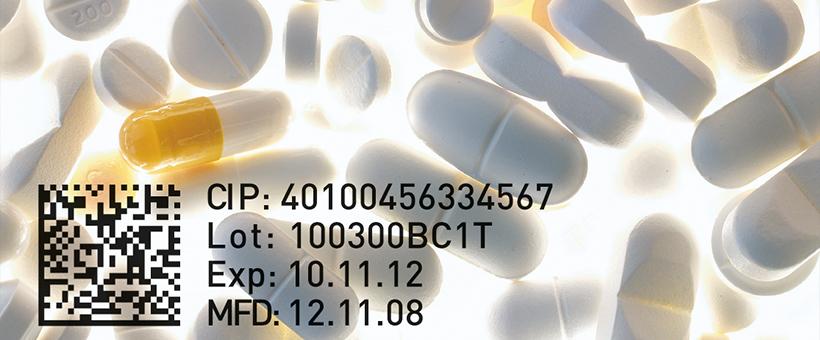 Pharmaindustrie DataMatrix