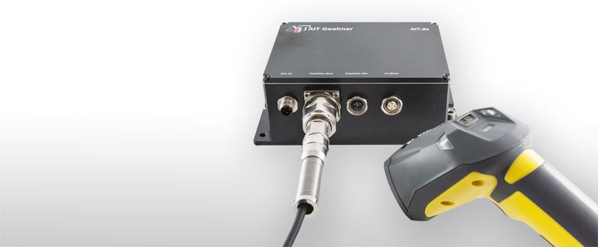 AIT A-Box PoE mit DataMan Handscanner