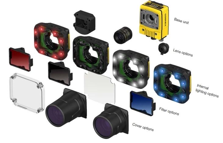Intelligente Kamera Cognex In-Sight 7000 Gen2 und Aufsätze