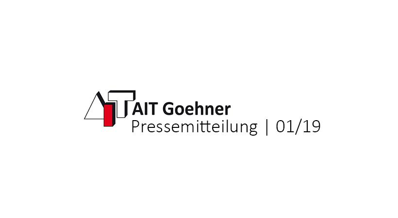 AIT Goehner Pressemitteilung Januar 2019