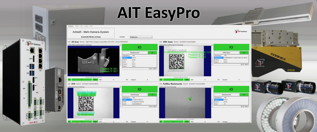 AIT EasyPro Screenshot und Ausrüstung