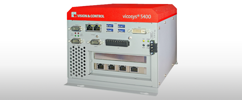 Vision&Control vicosys5000 Industrierechner