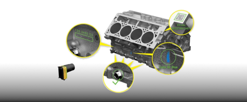Cognex In-Sight 7000 Gen2 Anwendungen am Motorblock